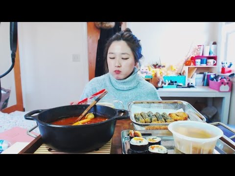How to make basic Korean spicy rice cake