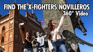Find The X-Fighters Novilleros in 360