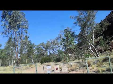 Video 295-Larapinta Drive - 4WD Track To Boggy Hole w/photos