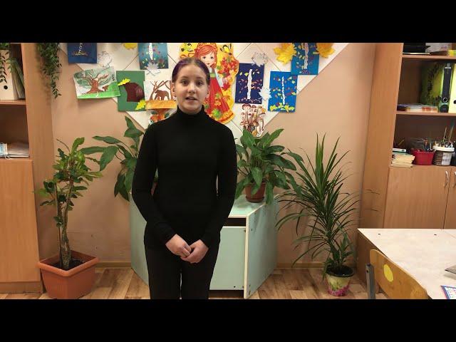 Изображение предпросмотра прочтения – ДарьяШматкова читает произведение «Письмо от матери» С.А.Есенина