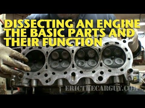 Dissecting an Engine, The Basic Parts and Their Functions - EricTheCarGuy