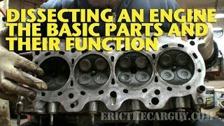 Dissecting an Engine, The Basic Parts and Their Function - EricTheCarGuy
