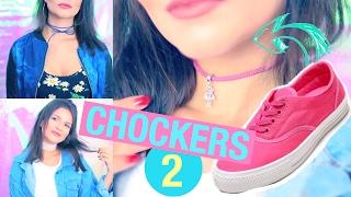 DIY: Como Fazer Suas Próprias Chockers 2 | #VEDA14