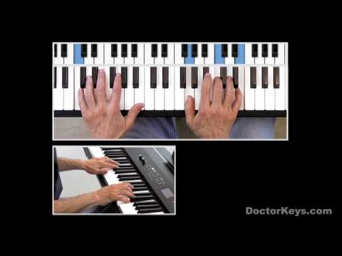 Piano Tutorial: Adeles Someone Like You & Other 4Chord Songs