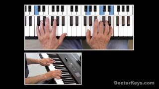 """Piano Tutorial: Adele's """"Someone Like You"""" & Other 4-Chord Songs"""