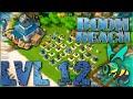 Boom Beach Headquarters Level 12 Defense Strategy