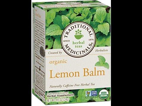 traditional medicinals organic lemon balm tea 16 tea bags