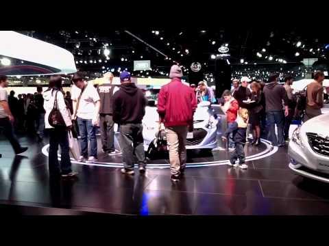 LA Auto Show With Sam