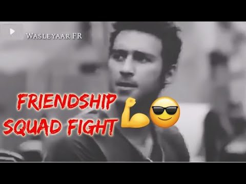 Friendship Squad Fight 001 🔥🔥 Boys Attitude Status 💜😠 GANGSTA