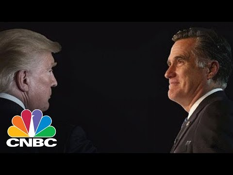 Here Is The Tumultuous Relationship Of Donald Trump And Mitt Romney | CNBC