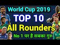 RootBux.com - World Cup 2019: Top 10 All Rounders to Watch out for, Must Watch