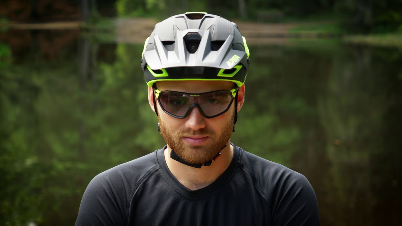 Alpina Bike Brille Alpina S-Way L VL Schwarz