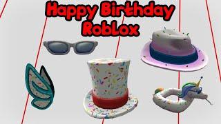 Feliz aniversário 13 aniversário Roblox e novos itens grátis!