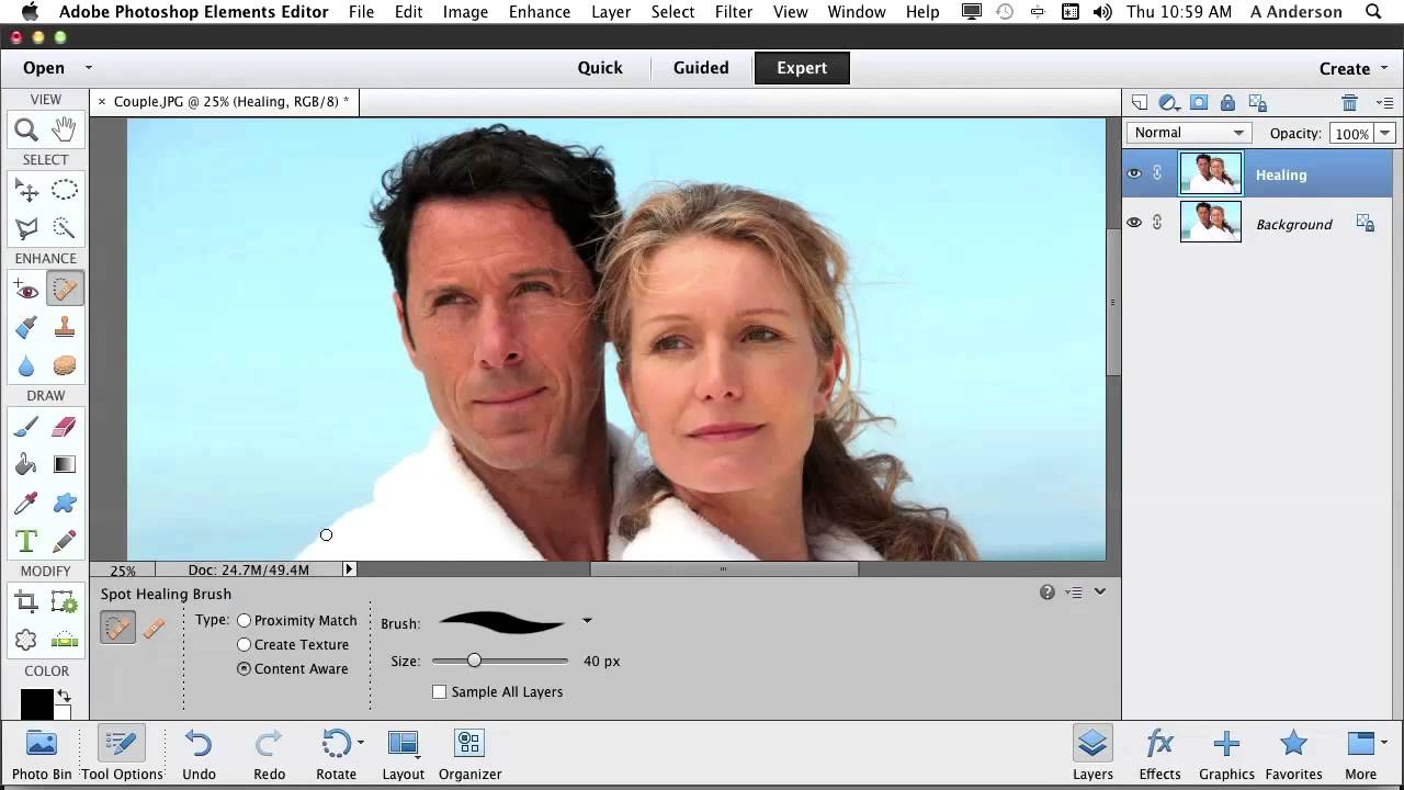 Photoshop elements 11 tutorial creative use of the healing brush photoshop elements 11 tutorial creative use of the healing brush baditri Choice Image