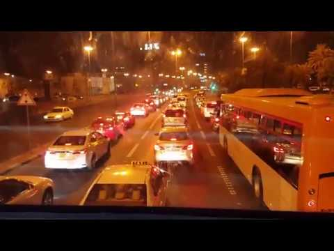 Riding a Double Decker bus #16 in Kuwait | Midnight Trip to Hawally