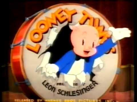 Porky Pig - That's All Folks! (1940 Original In Color!)