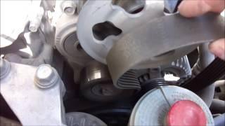 замена ремня и ролика натяжителя на Honda Accord 7 #авто #хонда