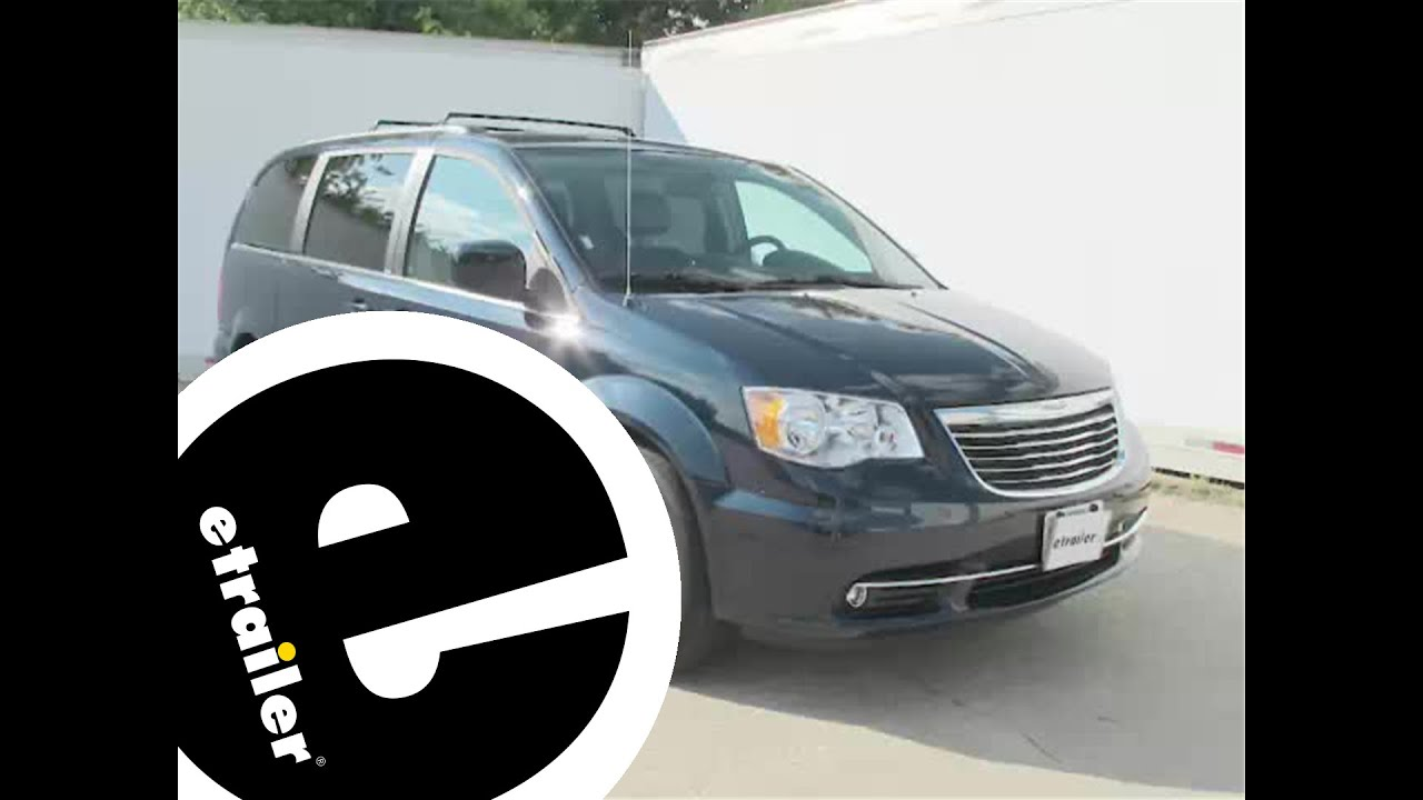 Install Trailer Hitch 2014 Chrysler Town And Country 13364
