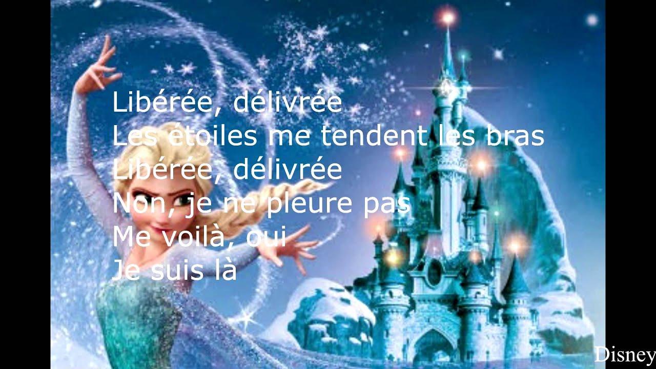La reine des neiges lib r e d livr e youtube - Rideau la reine des neiges ...
