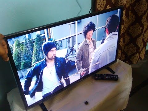 Video & Sound Testing of Panasonic 32 Inch LED TV (TH-32C350DX)