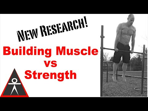 Building Strength vs Building Muscle With Calisthenics
