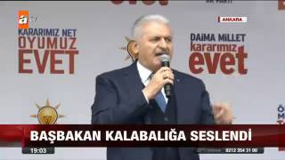 ATV   Ana Haber Bülteni   İlk Miting Kahramankazan'da Video