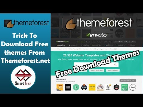 #Themeforest Theme Free Download | How To Download Free #themeforest Theme | Smart Trick