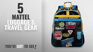 Top 10 Mattel Luggage & Travel Gear [2018]: Disney Cars 3 Backpack