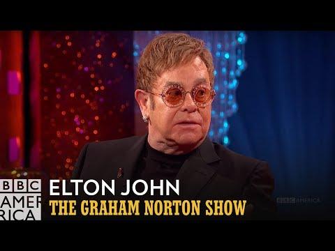 Elton John's Friendship with Eminem - The Graham Norton Show