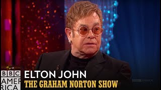 Elton John's Friendship with Eminem - The Graham Norton Show