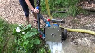Test 2 Generatore idroelettrico a turbina Pelton