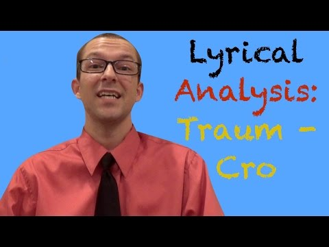 Traum -Cro: Lyrical Analysis - German Learning Tips #21 - Deutsch lernen