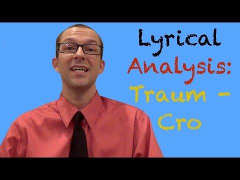 Traum -Cro: Lyrical Analysis - German Learning Tips #21 - Deutsch lernen