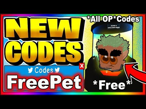 ALL NEW *ADMIN* OP CODES! Roblox Pet Island