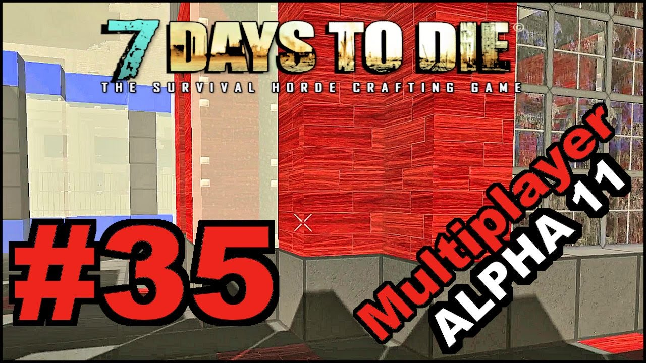 7 days to die alpha 11 5 mp e35 building project for Wood floor 7 days to die