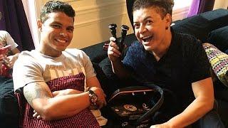 David Brazil entrevista Thiago Silva em Paris