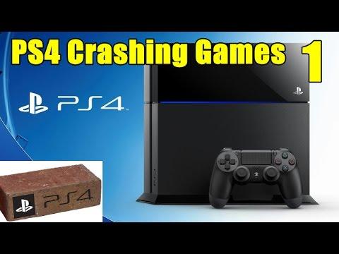 PS4 Error CE-34878-0 Crashing Games