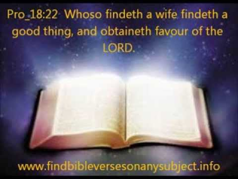 bible verses about marriage youtube