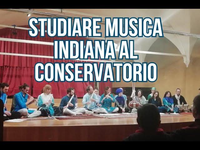 Corso di Musica Indiana al Conservatorio (canto indiano, tabla, bansuri, sitar)