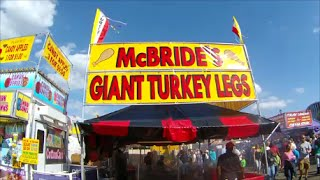 North Carolina State Fair 2014  - Midway and Exhibits - Oct. 18, 2014
