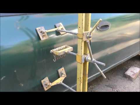 Рихтовочный мини стапель для споттера. ( Dent pulling bridge homemade )