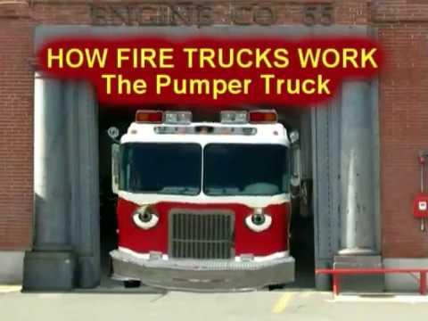 Talking Fire Truck | How Pumper Trucks Work
