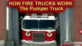How Fire Trucks Work | Pumper Truck Animated | Children Learn