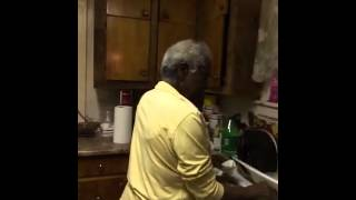 Big Momma Making Salmon Cakes....