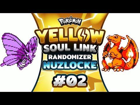 Pokemon Yellow Soul Link - EP02 | VENOMOTH THE DESTROYER