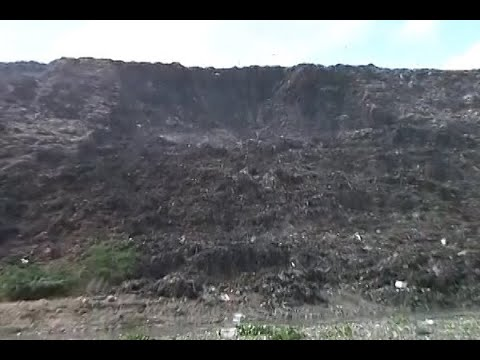 Ghazipur landfill overshot its limit of 15 feet in 2002