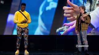 "Madden NFL 19: JuJu Smith-Schuster & Shay ""Young Kiv"" Kivlen - E3 2018 HD"