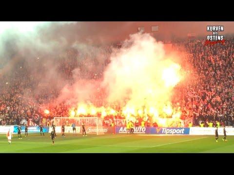 SK Slavia Praha 1:0 FC Viktoria Plzeň 05.03.2017 | Choreo, Pyro & Support
