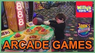 Video Games and RIDES at John