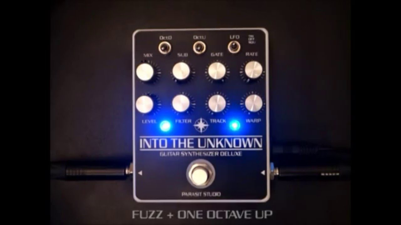 Cool DIY Synth Pedal: Parasit Studio's Into the Unknown | Delicious